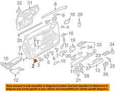 AUDI OEM 02-08 A4 Quattro Interior-Rear Door-Trim Panel Clip 8E0868243