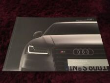 Audi Paper 2017 Year Car Sales Brochures
