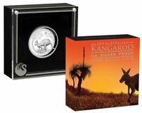 2019 P Australia 1 oz High Relief Silver Kangaroo $1 Coin GEM Proof OGP SKU58375