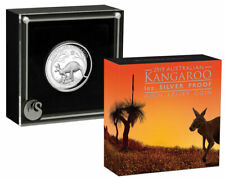 2017 Australia Kangaroo High Relief Proof 1oz Silver Coin Perth Ngc Pf69 *470