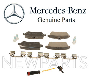 For Mercedes Benz W166 X166 C292 G Class Set of Rear Brake Pad & Sensor Genuine