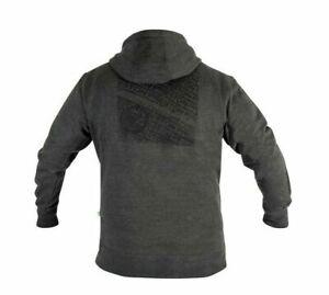NEW 2021 Preston Innovations Grey Zipped Hoodie (All Sizes)