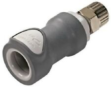 COLDER PRODUCTS NS4D13006 Straight Hose Coupling Coupling Insert - Valved, PP