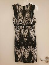 Black And White Pattern Shift Dress From H&M, Size S - Night Out