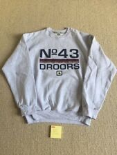 droors sweatshirt dc shoes large rare retro vintage skateboarding mid90s new