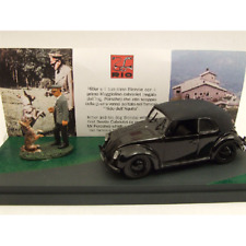 VW BEETLE CABRIO WITH HITLER 1938 1:43 Rio Personaggi Storici Die Cast