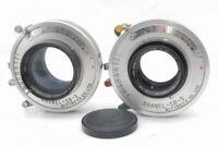AsIs Fuji Fujinar 210mm 250mm f/4.5 f 4.5 Lens Shanel 5BS Shutter set *1461