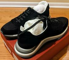 "$695 Mens Salvatore Ferragamo ""Brooklyn"" Gancini Trainer Sneakers Black US 14"