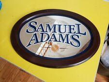 New listing Samuel Adams Boston Mirror Advertising Sign America's world class beer