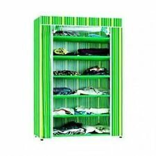 6 Layer Multipurpose Storage Rack Cum Shoe Rack With Cover Cupboard Foldable