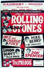 "Rolling Stones Bradford 16"" x 12"" Photo Repro Concert Poster"