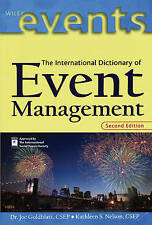 The Dictionary of Event Management (The Wiley Event Management Series), , Very G