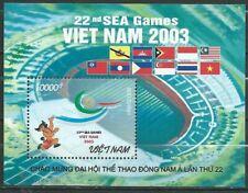 030. VIETNAM 2003 STAMP M/S SPORTS, SEA GAMES , FLAGS, MASCOT . MNH