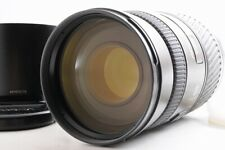 【MINT】MINOLTA APO TELE ZOOM 100-400mm F/4.5-6.7 AF Camera Lens + HOOD Caps JAPAN