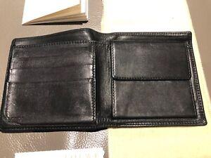 Loewe Men's sheepskin folding wallet
