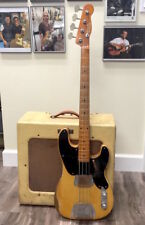 1951 Fender Precision Bass with matching Tweed Bassman amp Set