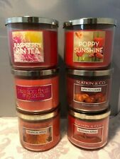 New Bath Body Works 3-Wick Candle *You Choose Scent*