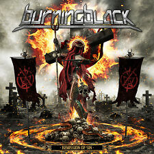 BURNING BLACK - Remission Of Sin CD 2014 Melodic Power Metal *NEW*