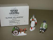 Dept 56 Alpine Village *Alpine Villagers* 65420 Retired Set 3