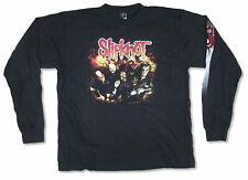 Slipknot Orange Splatter 2003 Rare Original Black Long Sleeve T Shirt NEW