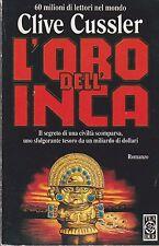 Libro - Clive Cussler - L'oro dell'Inca - Cop. mobida | usato