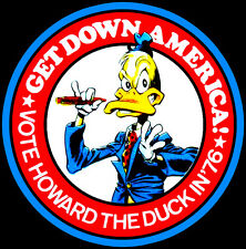 70's Comic Classic Vote Howard the Duck in '76 custom tee Any Size Any Color