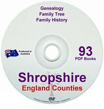 Family History Tree Genealogy Shropshire