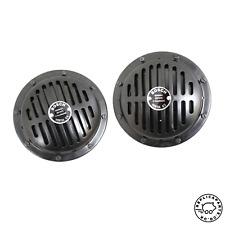 Porsche 356 911 912 Horn Set Bosch 12v High 380hz Low 310hz Replaces 64463510200