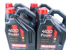 5 Litre Motul 4100 Power 15w50 huile L'huile de moteur