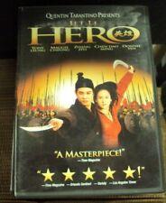 Hero Dvd early-00's martial arts Jet Li Tony Leung Maggie Cheung Zhang Ziyi