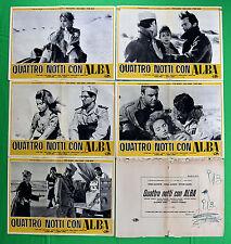 G95 LOTTO FOTOBUSTE QUATTRO NOTTI CON ALBA BALDWIN CHELO ALONSO MANNI GORA