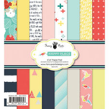 Fancy Pants Designs Happy Place Collection  6 x 6 Scrapbook Paper Pad