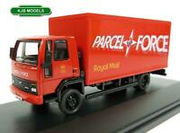 BNIB OO GAUGE OXFORD DIECAST 1:76 76FCG005 FORD CARGO BOX VAN PARCELFORCE