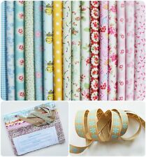 Big Bundle New 100% Cotton Floral Fabric Material Remnants Offcuts Cath Kidston