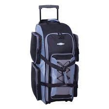 """NWT Destinations Luggage 32-in Wheeled Duffel Bag GREY BLACK NEW 32"""" Duffle L"""