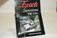 HO scale Monogram Exacts vehicle car 2029 Mercedes Gullwing SILVER