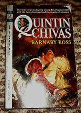 Quintin Chivas by Barnaby Ross. The story of a Renaissance rogue.