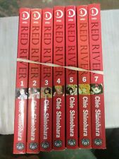 Red River Shojo Chie Shinohara Manga Books 1-7