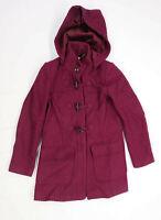 Laura Ashley Womens Size 10 Wool Blend Purple Coat