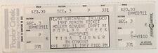 Tina Turner Concert Ticket Stub (September 11, 1987, Poplar Creek)