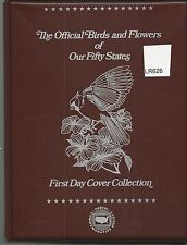 The Official Birds and Flowers of Our Fifty States FDC RET. $475.00 (LR626)