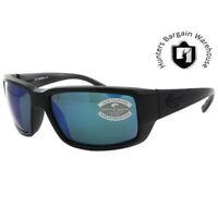 Costa Del Mar TF01OBMP, Polarized Fantail Blackout Blue Mirror Sunglasses