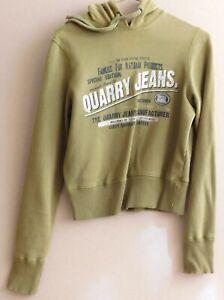 Sudadera para Mujer Verde Olivo - Olive Green Women's Sweatshirt