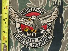 Usaf Patch , 3D Security Poice Squadron , Night Hawks