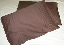 Mulberry Silk / Combed Cotton Pillowcase - 2PCs - 380TC - Standard/Queen - Brown