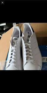 Adidas Superstar Stan Smith Originals Men Shoes size 19US white/navy blue