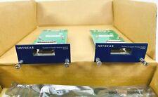 Pair of Netgear Prosafe AX742 Gigabit Stacking Module GSM7328S GSM7352S Switch