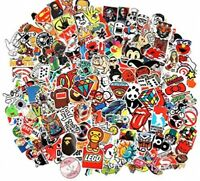 CHNLML Random Sticker 50-900pcs Variety Vinyl Car Sticker Motorcycle Bicycle