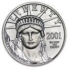 2001 1/10 oz Platinum American Eagle BU - SKU #4886