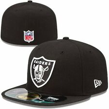 Oakland Raiders NFL Football Cap New Era 59fifty Size 7  Authentic On Field